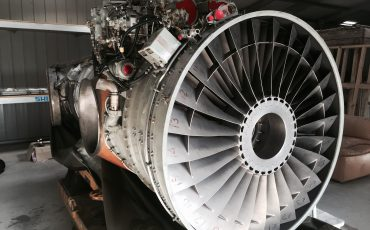 Our new Rolls-Royce Pegasus turbofan engine.