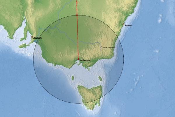 Aircraft Range Visualization